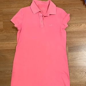 Vineyard vines pink polo dress size small
